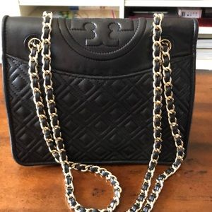 Tory Burch Quilted Fleming Bag